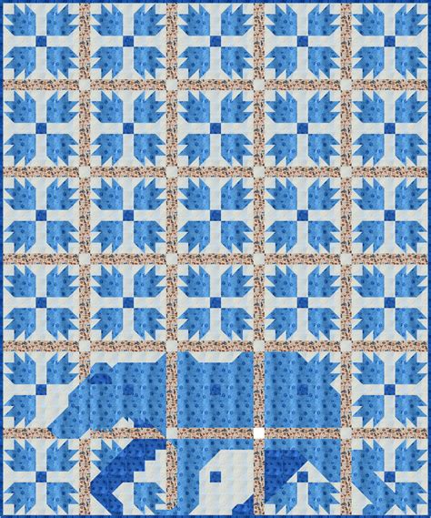 Paw Quilt by Sew Fresh Quilts Mod Paw Qal Introduction And
