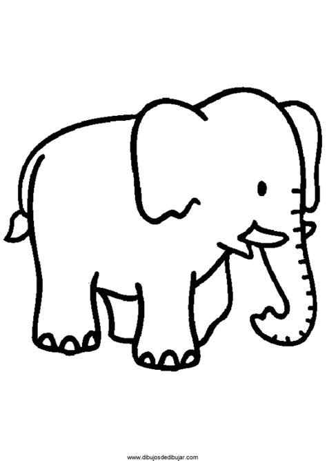 imagenes de elefantes faciles para dibujar dibujos de elefantes para colorear e imprimir 2 de 2