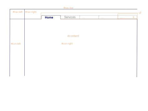 css layout bottom menubar custom horiz menu css bottom border trick