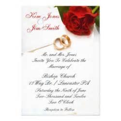 roses wedding invitations wedding invitations 5 quot x 7 quot invitation card zazzle