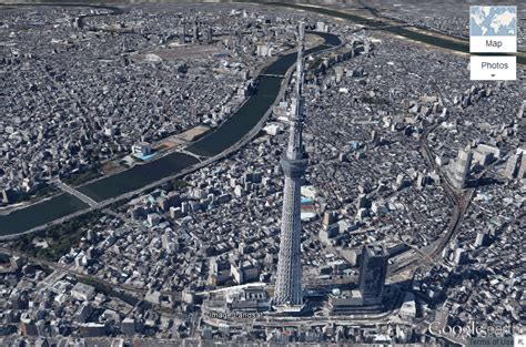 google tokyo visit tokyo like superman using google earth 3d imagery