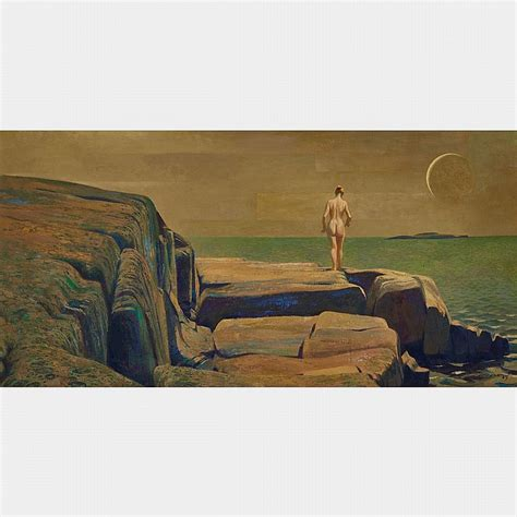 Charles Comfort Paintings by Charles Fraser Comfort O S A P R C A New Moon On C