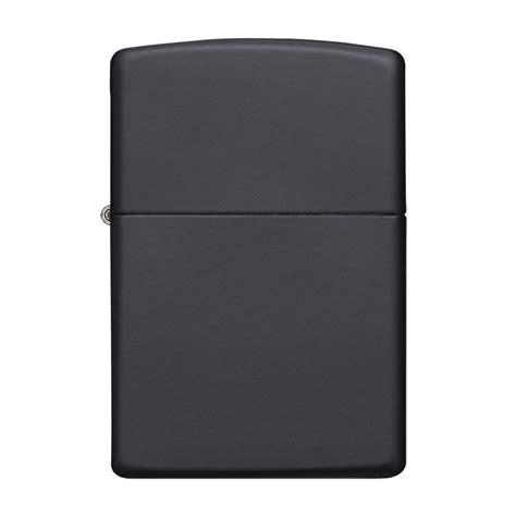 Zippo Lighter Matte classic black matte windproof lighter zippo