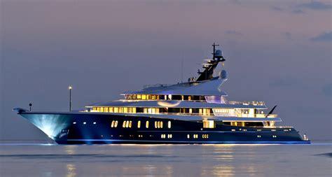 yacht phoenix 2 phoenix 2 yacht profile at night photo credit lurssen