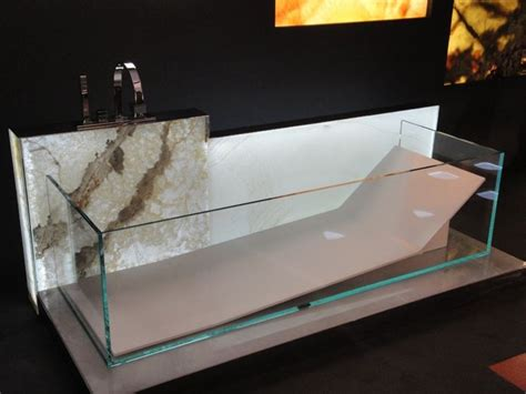 vasca da bagno in vetro vasche in vetro bagno