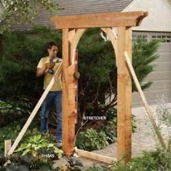 Garden Arch Materials 17 Best Images About Rustic Garden Arbors On