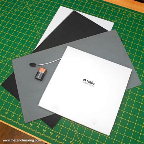 review foldio portable mini photo studio handled