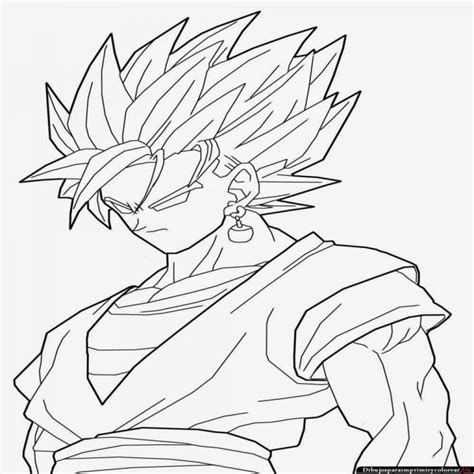 imagenes para colorear de dragon ball z dibujos de dragon ball z para imprimir y colorear