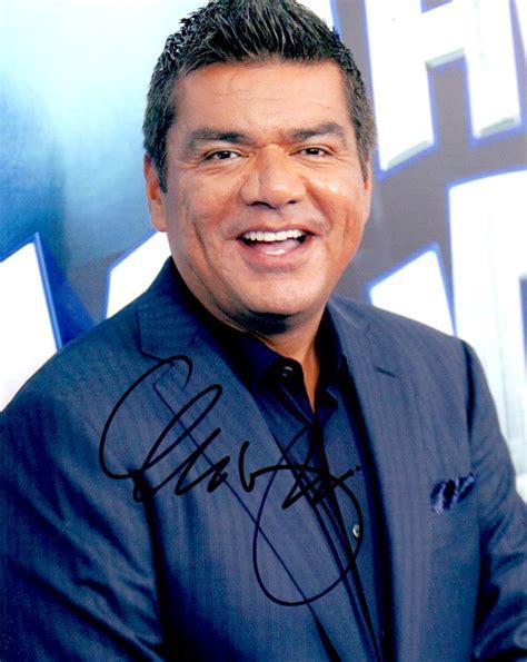 actor last name george george lopez autographed 8x10 photo actor autographs