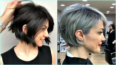 gorgeous short  premium bob haircut  women