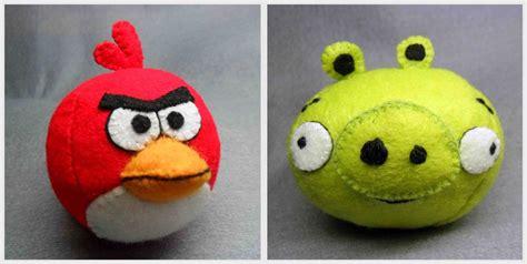 Handmade Plush Toys - handmade angry birds plush gadgetsin