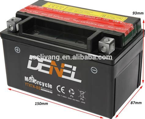 Motorrad Batterie 12v 7ah by Best Battery Terminal For Motorcycle Ytx7a Bs Battery 12v