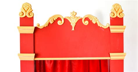 Home Theatre Decorations how to make a puppet theatre for children diy tutorial