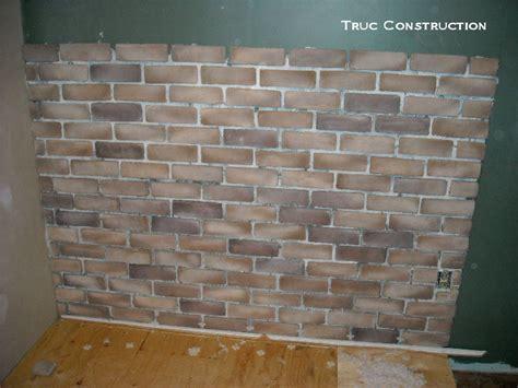 Brique Decorative Interieur briques d int 233 rieur d 233 coratives