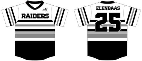 design raiders jersey raiders elenbaas custom throwback baseball jerseys