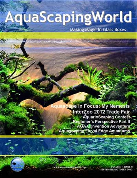 aquascaping magazine aquascaping world magazine images