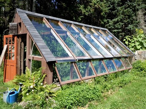 greenhouse design a visit to helen and scott nearing s little house on the