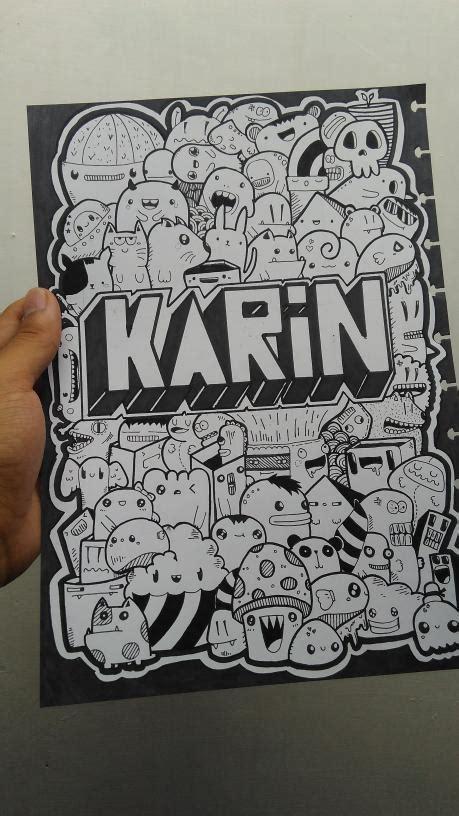 doodle di dinding jual beli hiasan dinding custom nama doodle with
