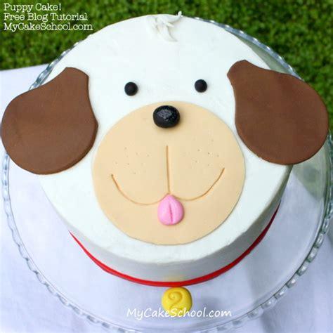 puppy cake puppy cake a tutorial my cake school