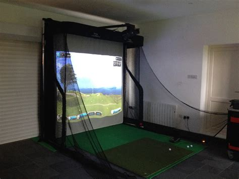 Home Review by Golf Simulator Setup Question Golf Talk The Sand Trap