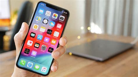 wallpaper ios 12 gui interface iphone x smartphone 4k hi tech 20201