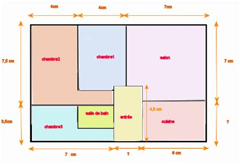 Echelle Plan Maison by Plan Maison A L Echelle