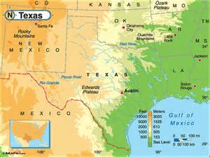 mountains in texas map map of texas mountains cakeandbloom