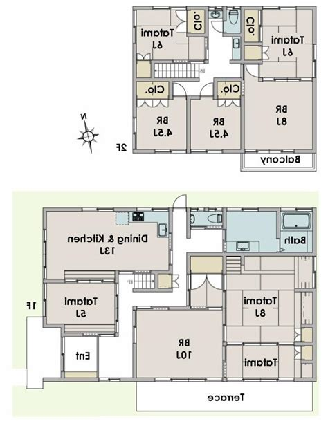 nice traditional japanese house floor plan in fujisawa typical japanese house photo