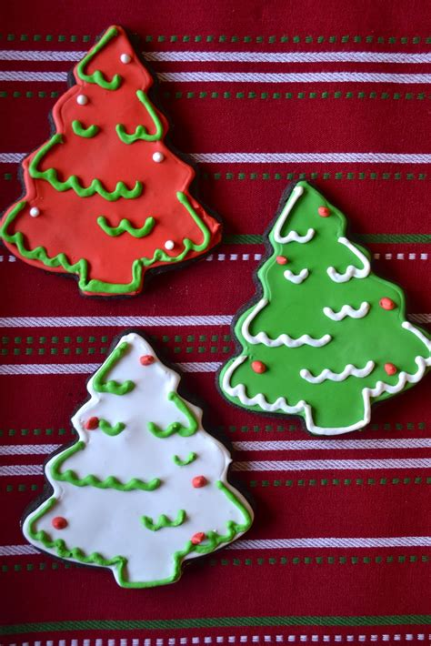 put sugar in xmas tree chocolate tree sugar cookies a dash of megnut