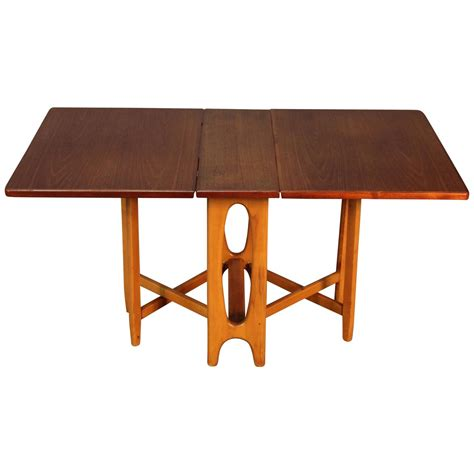 Gateleg Drop Leaf Table Scandinavian Drop Leaf Gateleg Table For Sale At 1stdibs