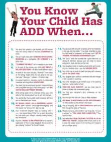 Download you know your child has add when parents share their kids