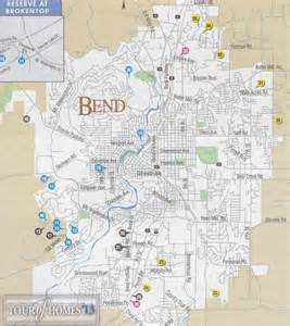 2013 tour of homes bend map