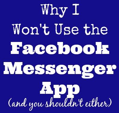 apps wont android 3 reasons why i won t use messenger app raising whasians