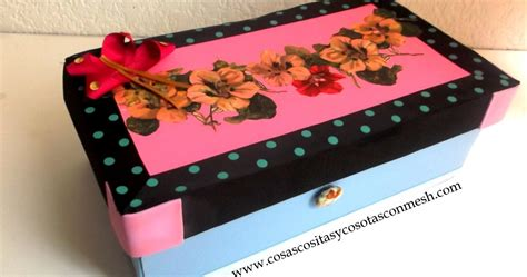 como decorar cajas de carton zapatos como decorar una caja de zapatos cositasconmesh
