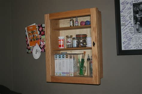yankee workshop medicine cabinet craft cabinet by