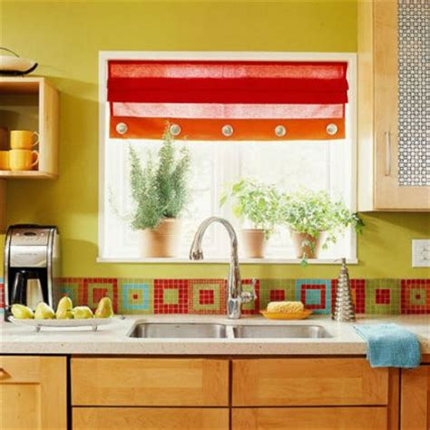 Red Kitchen Tile Backsplash by Azulejos Decorativos Para La Cocina Decoactual Com