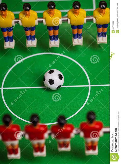 Foosball Tabletop Soccer by Foosball Stock Photo Image 50729635