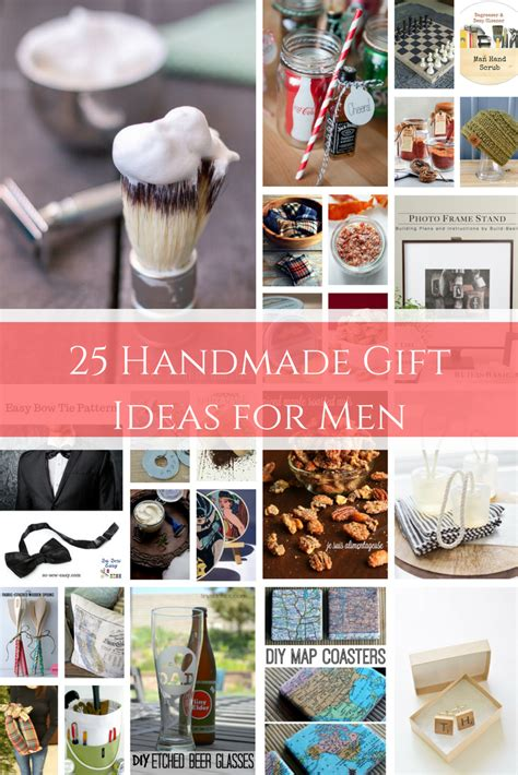 25 gift ideas 25 handmade gift ideas for men the birch cottage