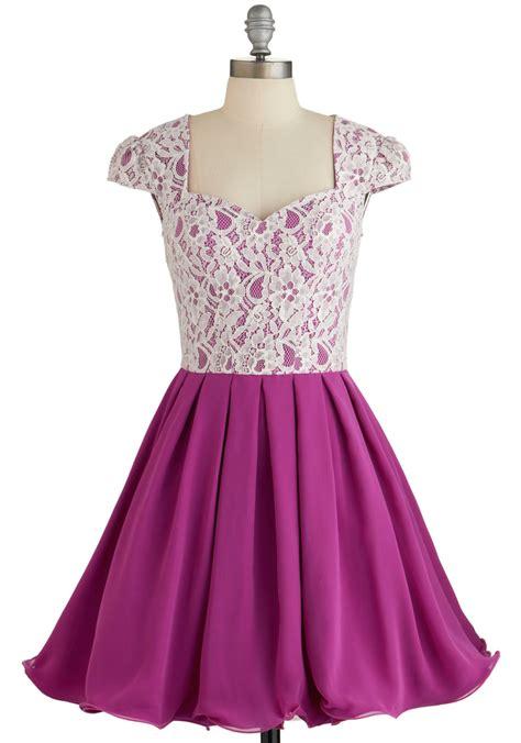 loganberry beautiful dress in purple mod retro vintage