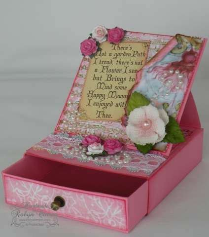 handmade card box template this easel card box is a great idea cards