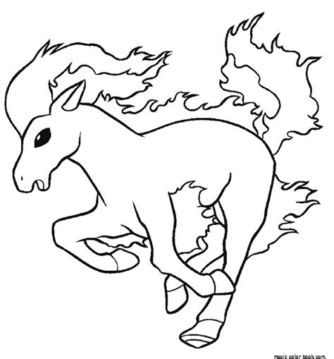 pokemon coloring pages of horsea pokemon coloring pages horse online free