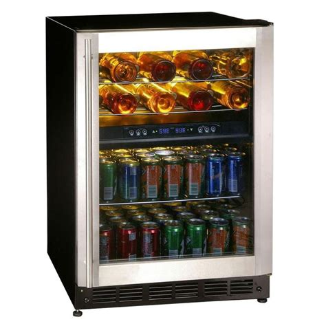 magic chef wine cooler 16 bottle 77 can dual zone wine and beverage cooler