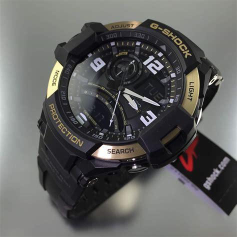 Gshock Ga 1000 Black black casio g shock g aviation compass aviator ga1000 9g