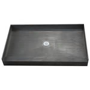 tile ready shower pan 30 x 60 right pvc drain rakuten com