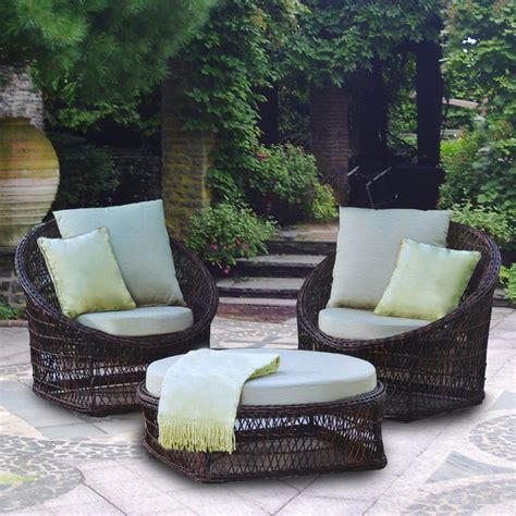 costco  piece wicker replacement cushion set garden winds