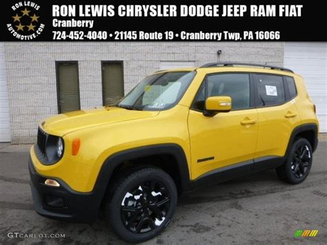 jeep yellow 2017 2017 solar yellow jeep renegade altitude 4x4 117705684