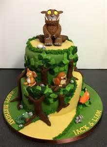 forest cake cakes pinterest