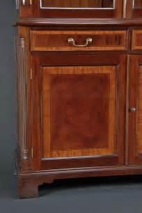 Mahogany Cabinet Doors High End Mahogany Two Door China Cabinet Ebay