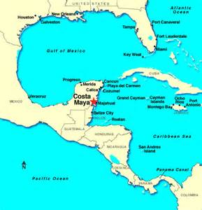 Costa Maya Mexico Map by Costa Maya Mexico Related Keywords Amp Suggestions Costa