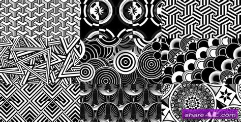 geometric pattern after effects art deco background patterns 1 after effects project